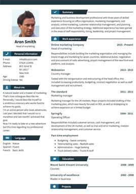 CV mal bilde