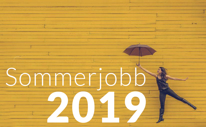 Fiks deg sommerjobb 2019- Alt du trenger å vite